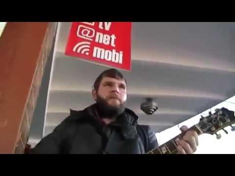 Cover    Беспечный ангел ария   парень классно поёт песню под гитару