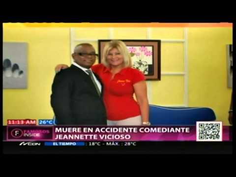 Muere en accidente actriz comediante Jeannette Vicioso