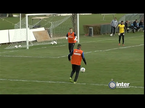 ALLENAMENTO INTER REAL AUDIO 04 03 2014