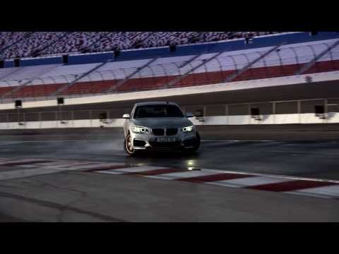 BMW M235i prototype is world's first self-drifting car - official BMW video
