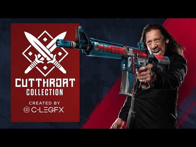 Дэнни Трехо рекламирует новые ящики в Counter-Strike: Global Offensive.