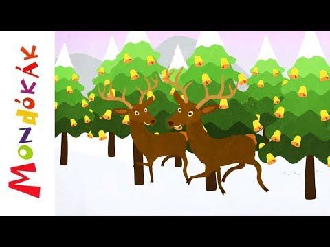 Zengnek az erdők | Gyerekdalok és mondókák, rajzfilm gyerekeknek