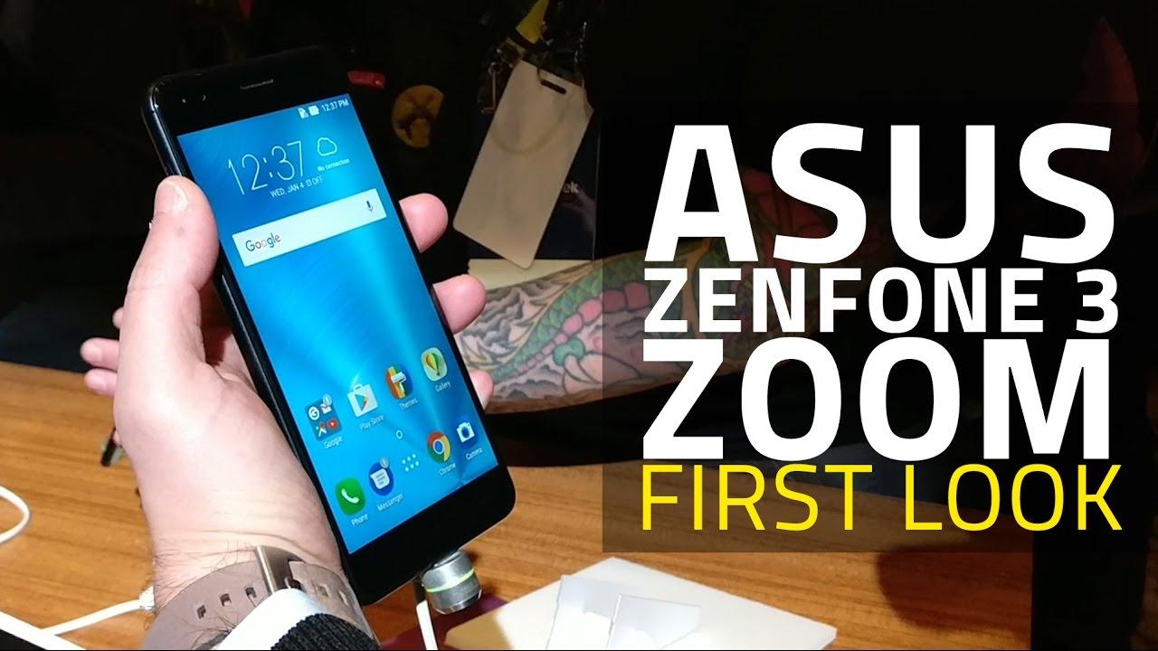 Asus ZenFone 3 Zoom Camera Smartphone First Look