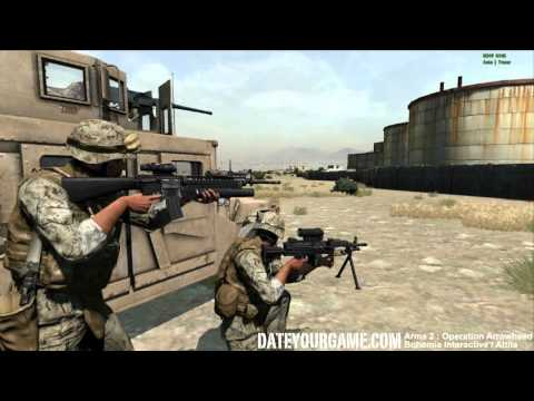 Arma 2 Operation Arrowhead gameplay with the 15th MEU Unit