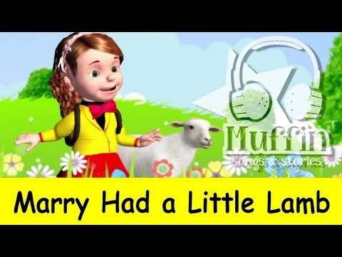 Muffin Songs - Mary Had a Little Lamb | nursery rhymes & children songs with