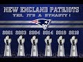 NEW ENGLAND PATRIOTS....       YES, IT