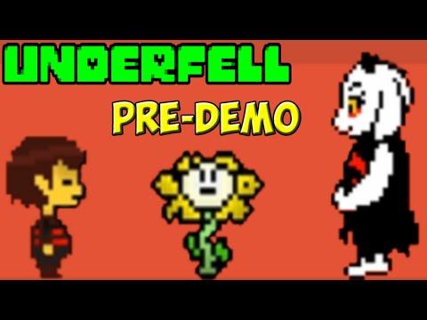 Underfell Pre-Demo   Мрачный Undertale