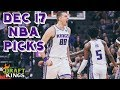 12 17 18 NBA DraftKings Picks mp3
