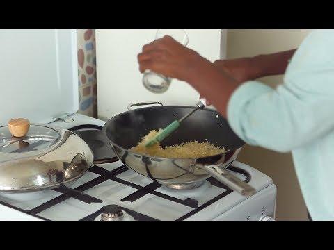 Geordana's Kitchen Show ጆርዳና ኩሽና ሾው: ጣፋጭ ሩዝን ከአትክለት፣ ቺዝ፣ ወዘተ ማዘጋጀት - ክፍል 1