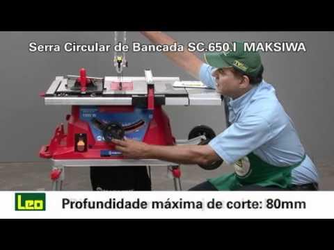 Serra Circular de Bancada SC 650I