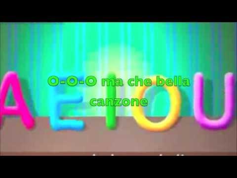 La canzone delle  vocali – Aeiou – Canzoni per bambini con testo