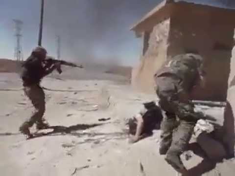 video kurdish YPG- deadly attack on FSA