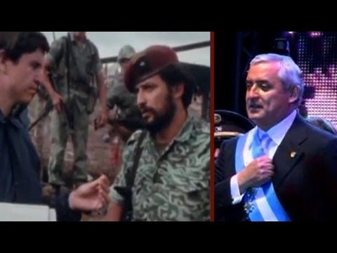 The Video Guatemala's President Doesn't Want You To See