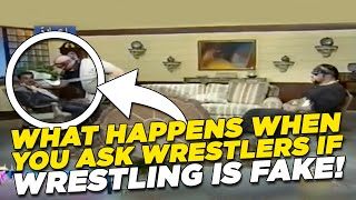 Don't Tell Undertaker & Vader Wrestling Is Fake! - WWE Unseen Footage