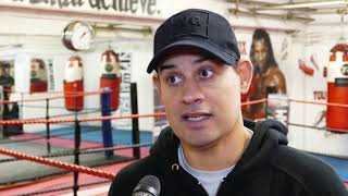 Nate Vasquez: I'd like Eubank Jr to beat Caleb Plant then move to 160