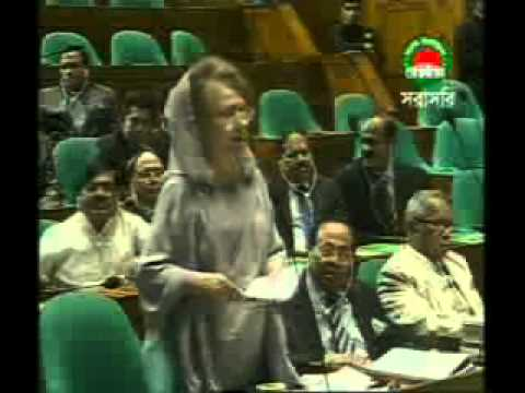 Sheikh Hasina & Khaleda Zia at Parliament