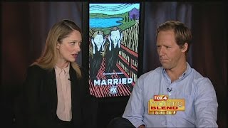 Married's Judy Greer and Nat Faxon 9-17-14