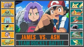 Ash vs. James (Pokémon Sun/Moon) - Team Rocket Battle