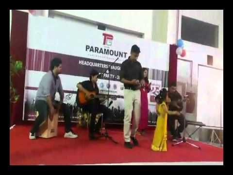Jhilmil - Vaathilil Aa Vaathilil (live) video