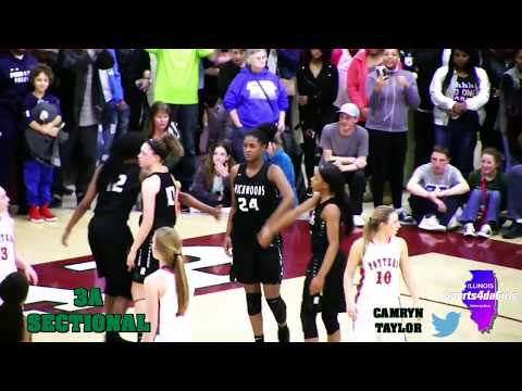 [ Sports4daGirls ]💖🏀Peoria Richwoods Lady Knights 3A Sectional Title Win (2018)