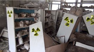 the highly radioactive kindergarten laboratory of Pripyat