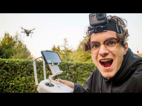 PRIMO VOLO CON IL DRONE (finito bene)