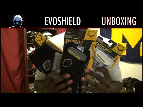 EvoShield Football Gloves Unboxing - Ep. 206
