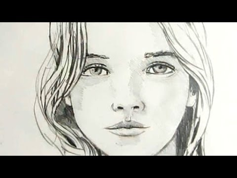 Pretty Face Drawing How to Draw a Female Face