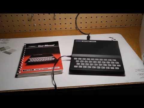 The Sinclair ZX81 / Timex Sinclair 1000 Computer