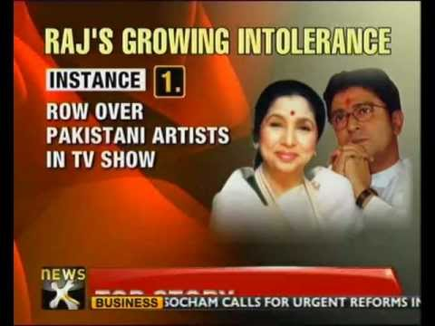 Raj Thackeray threatens to shut Hindi news channels - NewsX