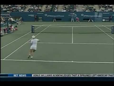 [HL] Justine Henin vs. Jennifer Capriati 2003 US Open [SF] [2/2]