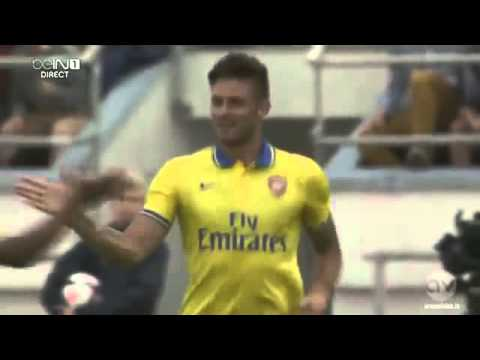 Arsenal 3-1 Manchester City - All Goals and Highlights