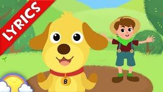 BINGO + Lyrics! | Nursery Rhymes for Children | CheeriToons