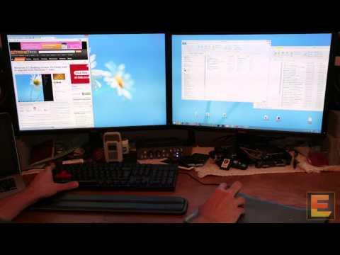 Windows 8.1 multi-monitor, Desktop, Start menu, hands-on