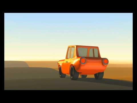 Taxi cartoone animation By POSITIVE ANIMATION STUDIO