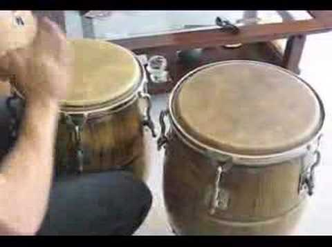 Merengue Rhythm on Congas by Paul lopez Video