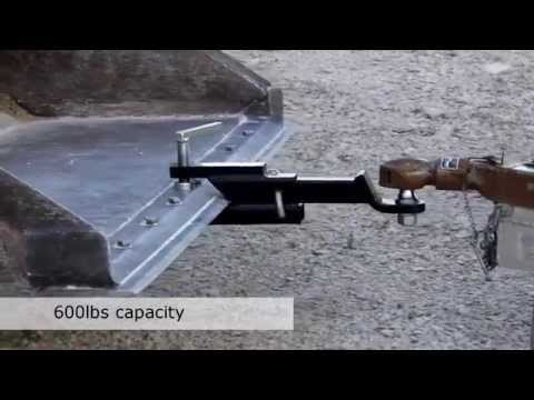Clamp On Trailer Hitch Youtube