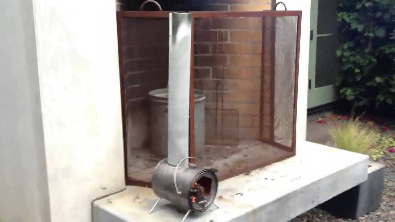 diy how to build a small wood stove plans free