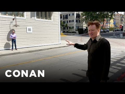 Conan's Guide To Taking Selfies While Social Distancing