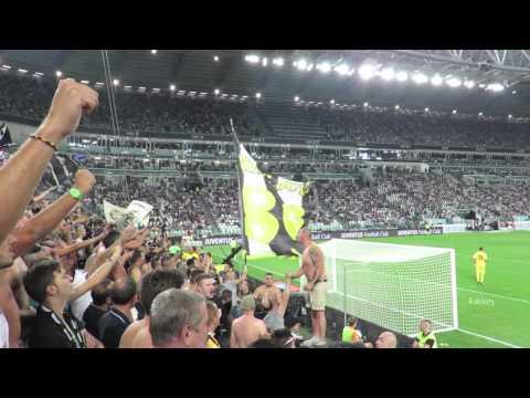 Juventus vs Udinese 2-0 Curva Sud 13/09/2014
