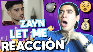 download musica ZAYN - LET ME REACCIÓN