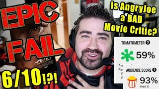 "AngryJoe not a ""REAL"" Film Critic! - Angry Rant!"