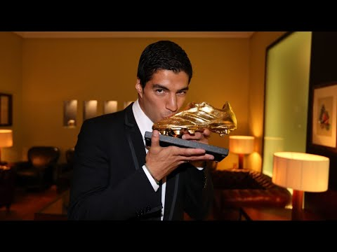 LIVE - Luis Suárez to recieve 2013-14 Golden Boot