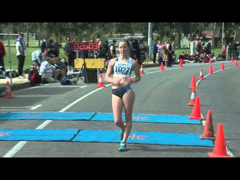 2012 Aust Walk Champs - Jnr & Non-Champ Races