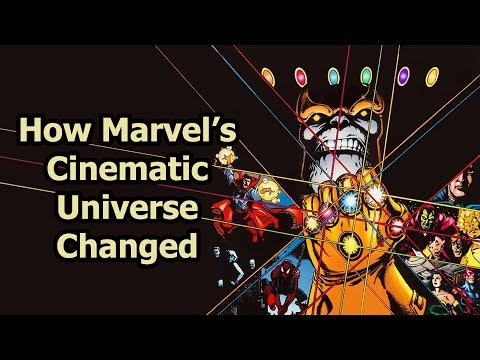 How Marvel's Cinematic Universe Changed Over Time