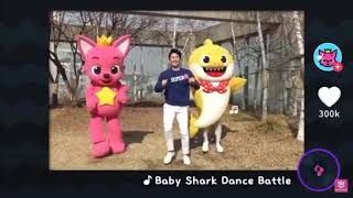 Baby shark dance battle