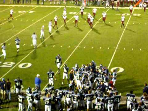 Camden County High School Wildcats vs. Lowndes County Vikings 2009 2nd playoff pt1of3