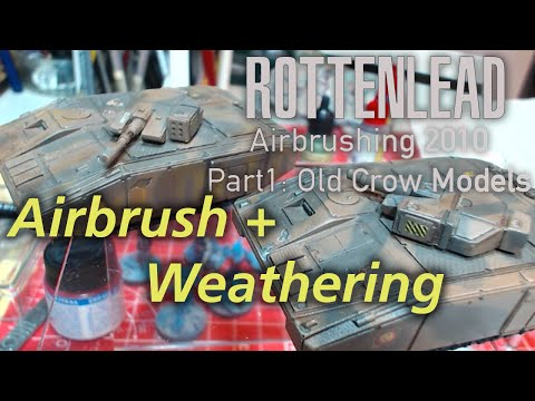 Part One: Airbrush Camo Guide for 15mm Old Crow Model Tanks