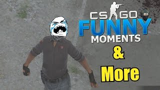 IS HE CHEATING???- CS GO Funny Moments & More in Competitive