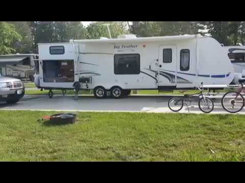 Camping at Lake Leelanau RV Resort in N. MI